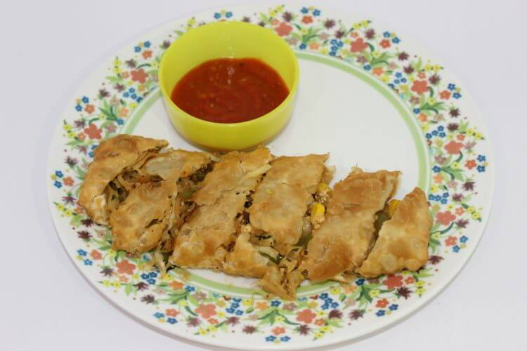 Chinese Veg Spring Roll Recipe