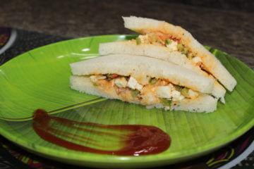 tandoori paneer sandwich recipe