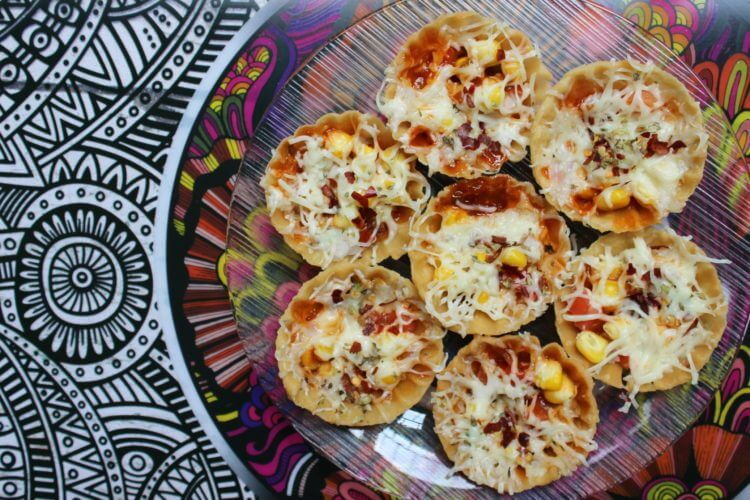 basket pizza