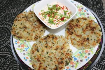 sabudana potato rosti