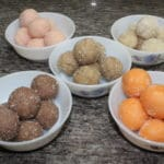 5 Flavored Coconut Ladoo Recipe