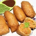 Bhaji Pav Roll Recipe