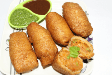 bhaji pav roll recipe