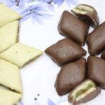 Choco Dip Sandwich Kaju Katli Recipe