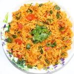 Veg Tadka Rice Recipe – Quick and Easy Lunch Box Recipe