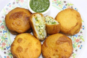 mexican Idli pakoda recipe