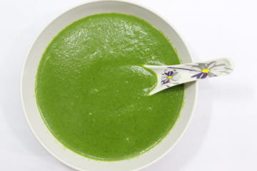 palak soup recipe - spinach soup