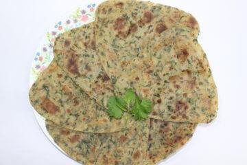 Mint Coriander Paratha