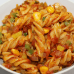 Indian Style Red Sauce Pasta Recipe