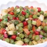 Green Chickpea Salad Recipe