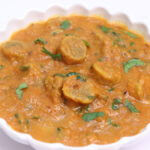 Rajasthani Besan Gatta Curry Recipe