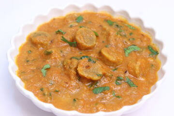 Besan Gatta Curry Recipe