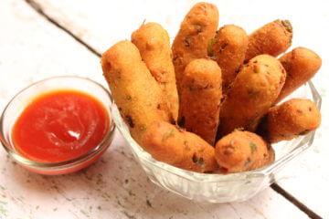 paneer fingers fries recipe