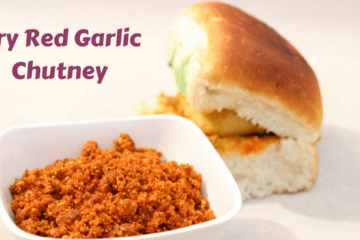 Dry Red Garlic Chutney Recipe