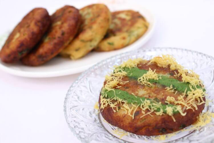 aloo tikki chat recipe