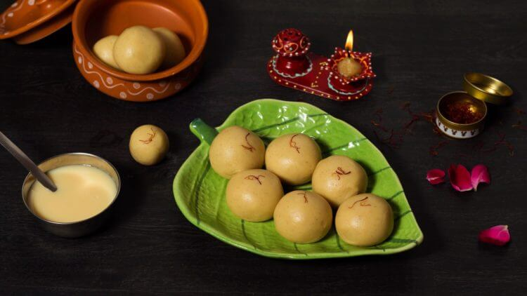 milk powder ladoo recipe