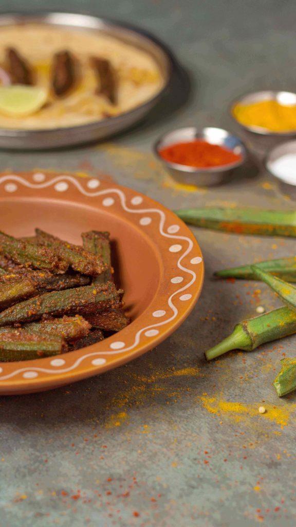 bhindi okra sabji