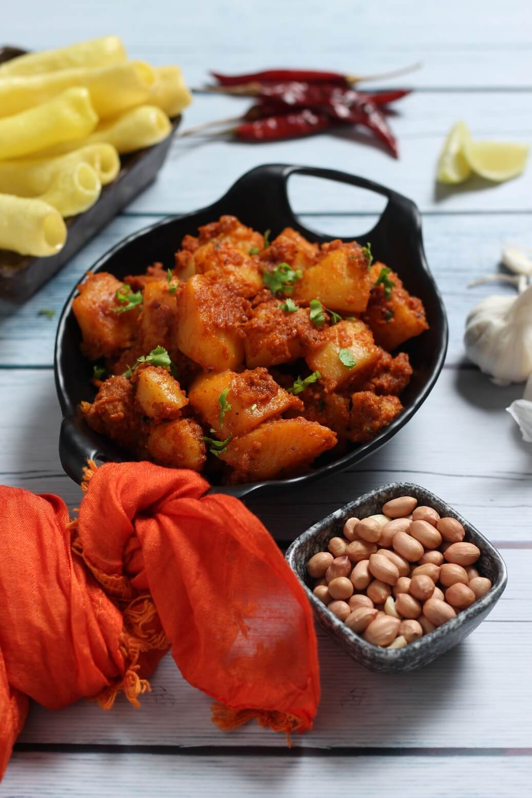 bhungara bateta recipe